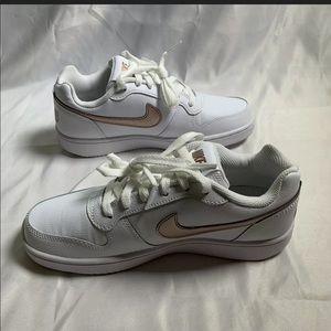 Nike Ebernon Low Women's Size 7 White Rose Gold
